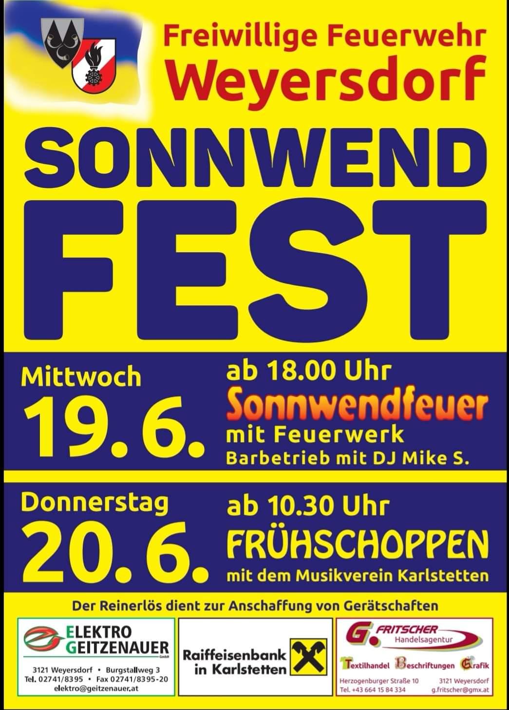 Sonnwendfest 19. – 20.6.