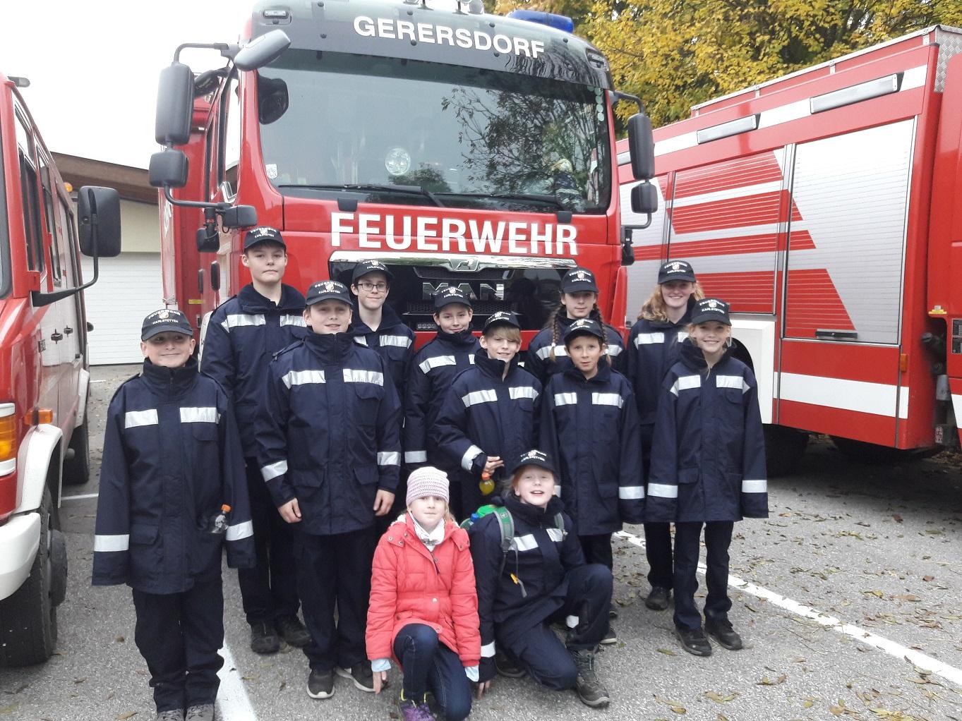Orientierungsbewerb der Feuerwehrjugend