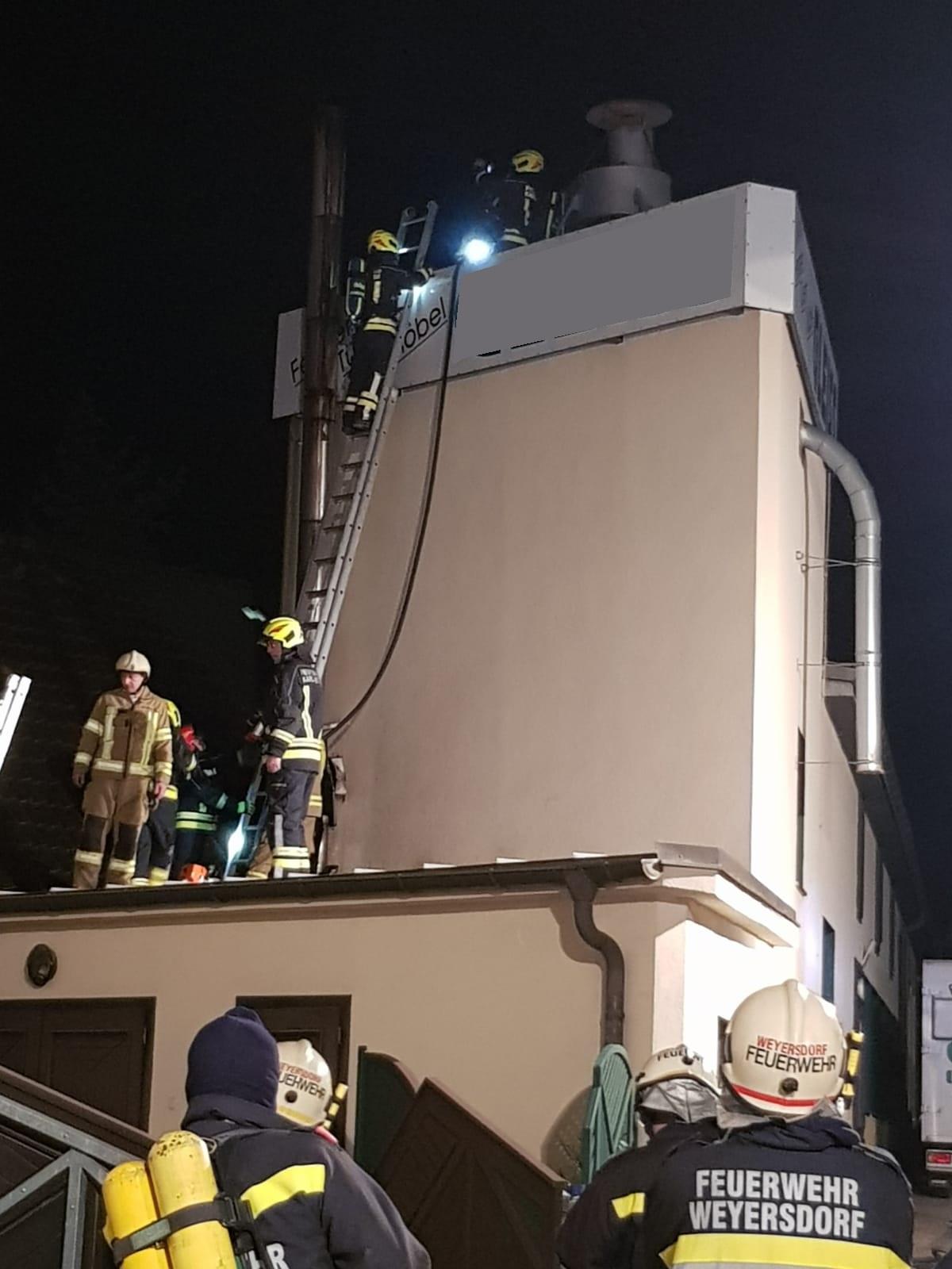 Brandeinsatz in Flinsbach