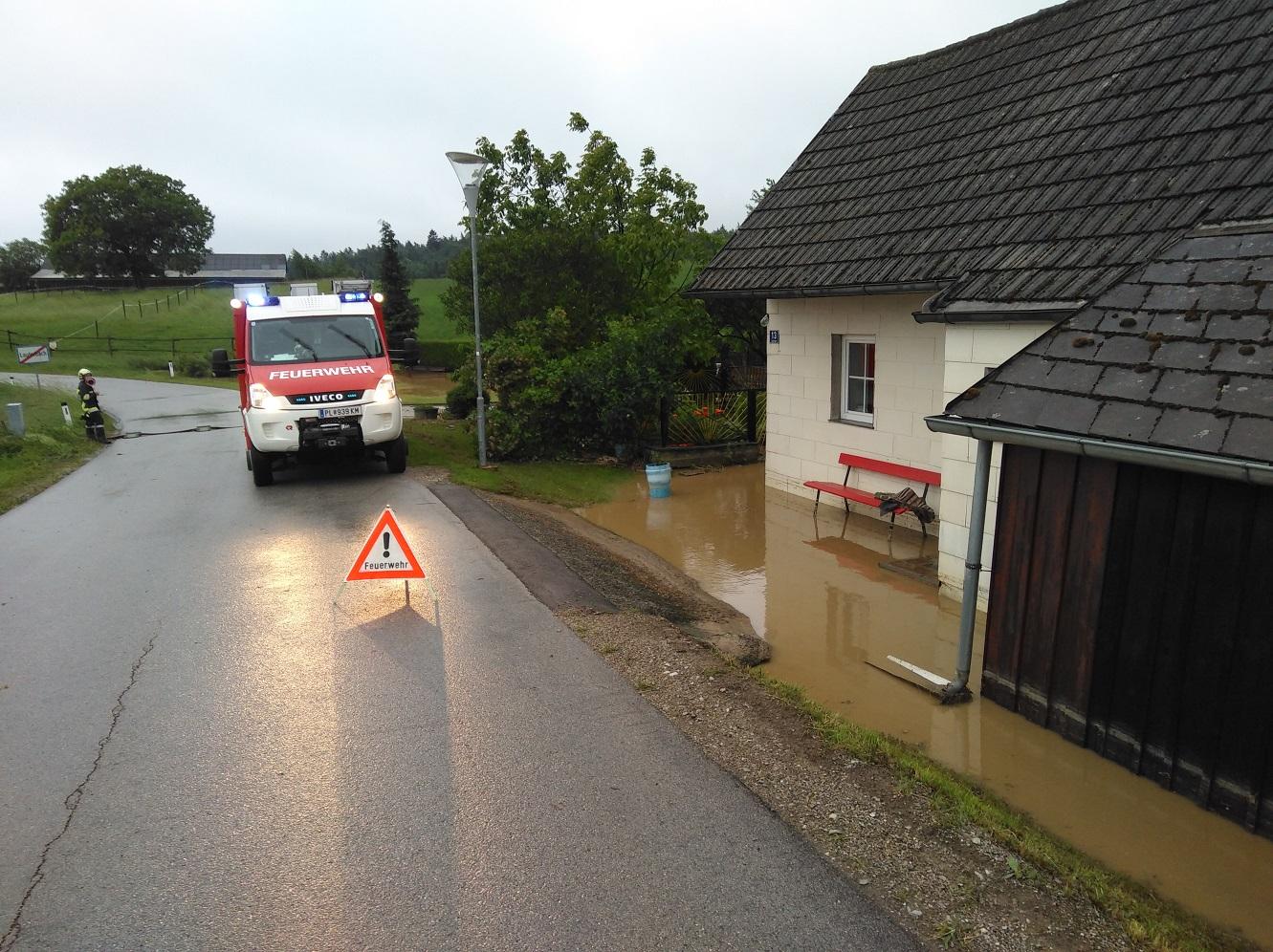 Auspumparbeiten in Lauterbach