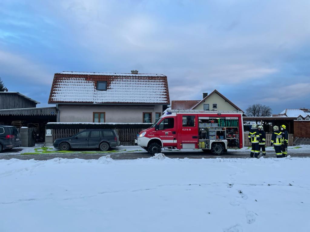 Kaminbrand in Weyersdorf 17.01.2021