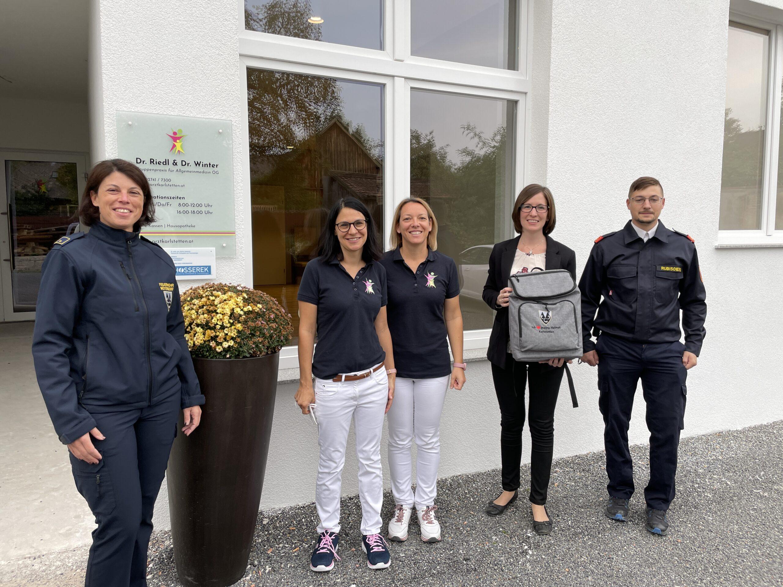 Erste Hilfe Ausrüstung für die Feuerwehrjugend 29.09.2021
